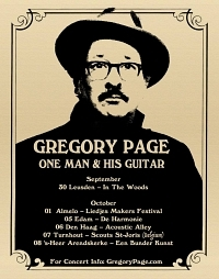 Gregory Page in concert