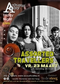 23 maart: Assorted Travellers in Acoustic Alley