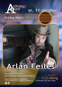 Acoustic Alley presenteert: Arlan Feiles