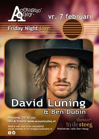 Acoustic Alley presenteert: David Luning & Ben Dubin